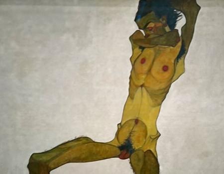 Beitrag über das Leopold Museum, Bild von Egon Schiele - www.wien-erleben.com