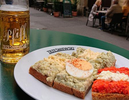 Beitrag über das Trzesniewski, beste Brötchen mit einem Pfiff - www.wien-erleben.com