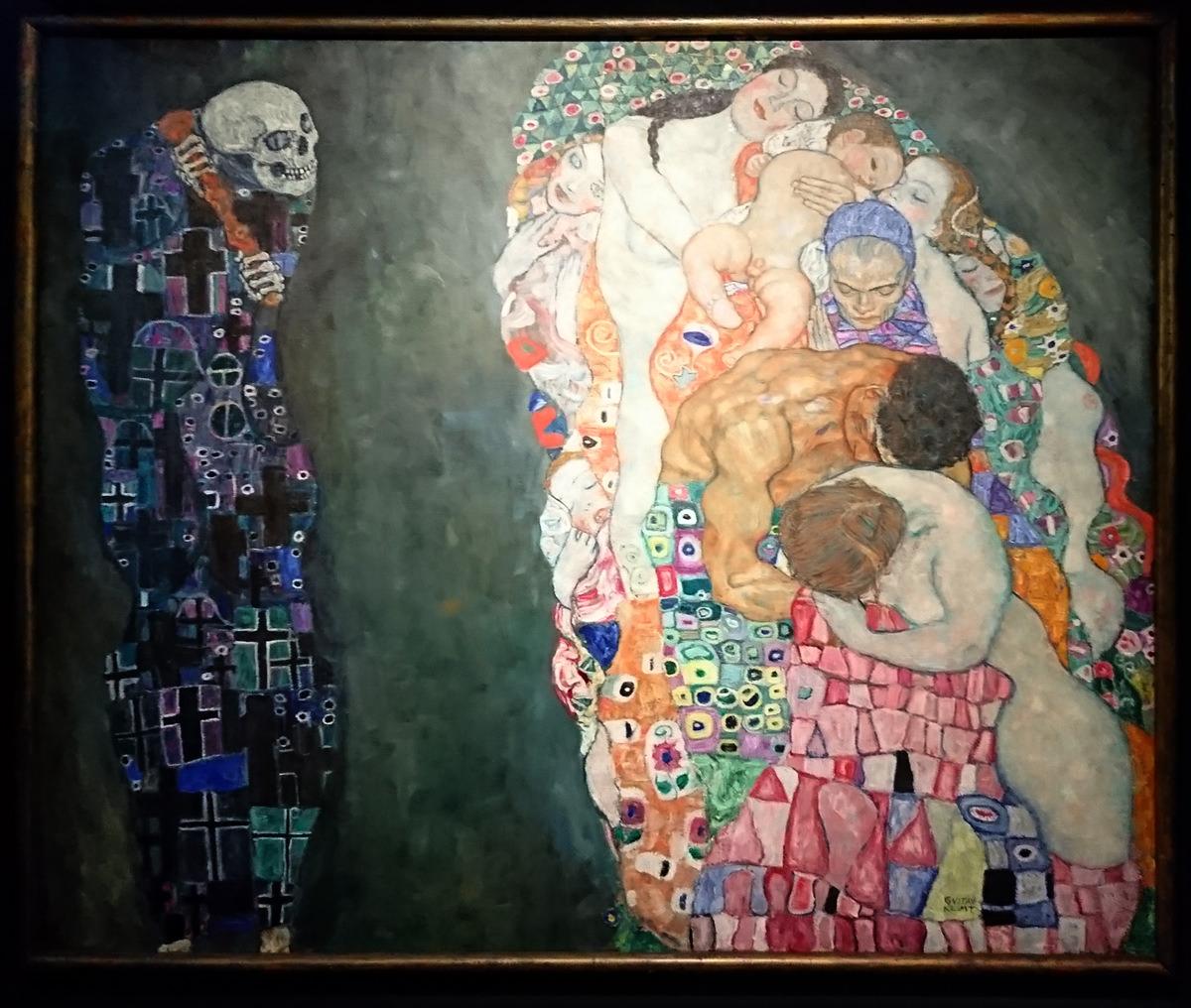 Leopold Museum Wien - Gustav Klimt Tod und Leben - www.wien-erleben.com