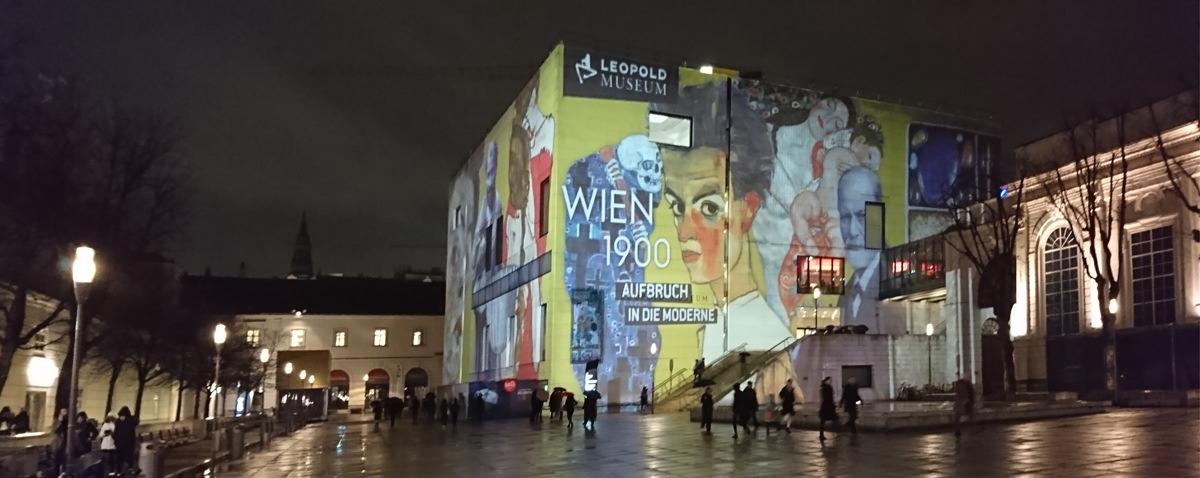 Leopold Museum Wien - Illumination Ausstellung Wien 1900 - www.wien-erleben.com
