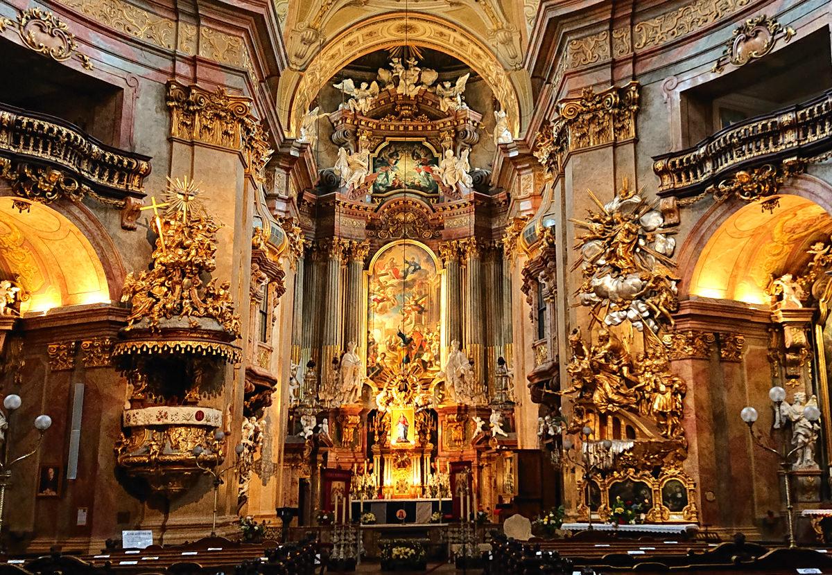 Altar der Peterskirche in Wien - www.wien-erleben.com