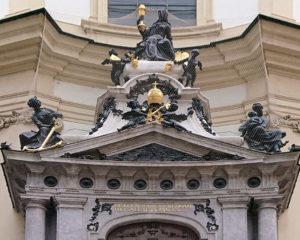 Portalder Peterskirche in Wien - www.wien-erleben.com