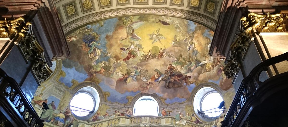 Prunksaal der Nationalbibliothek - Deckenfresko - www.wien-erleben.com