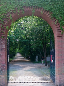 St. Marxer Friedhof - Eingnagstor zum Barockfriedhof - www.wien-erleben.com