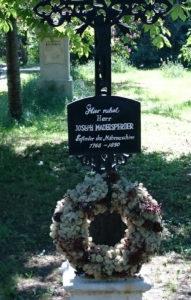 Friedhof St. Marx - Grab von Joseph Madersperger, Erfinder der Nähmaschine - www.wien-erleben.com