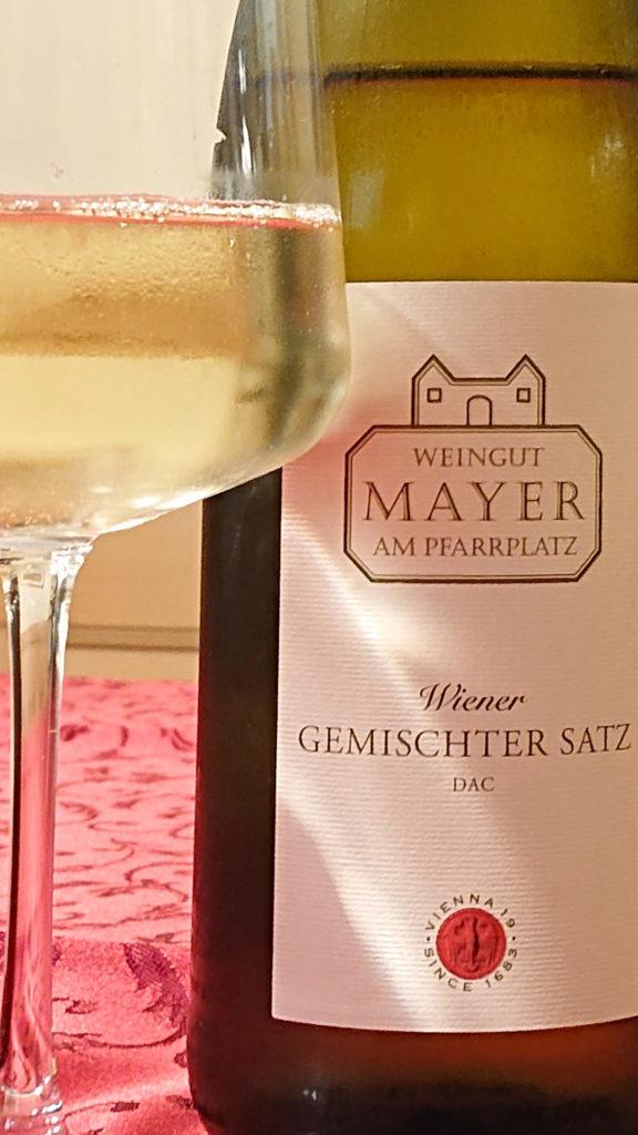 Wiener Gemischter Satz vonMayer am Pfarrplatz - www.wien-erleben.com