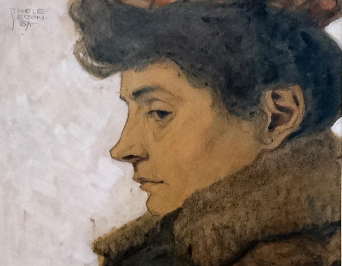 Beitrag über das Leopold Museum, Bild von Egon Schieles Mutter - www.wien-erleben.com