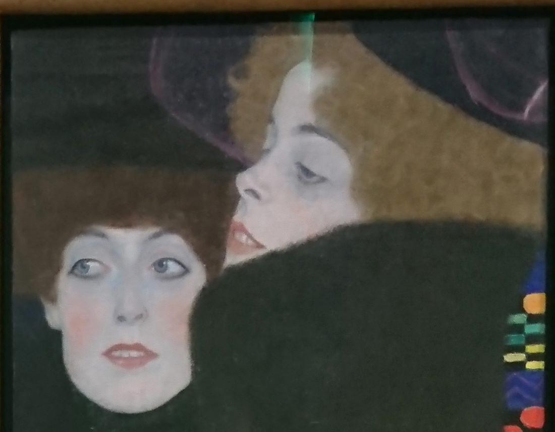 Beitrag über das Leopold Museum, Bild von Gustav Klimst Frauen - www.wien-erleben.com