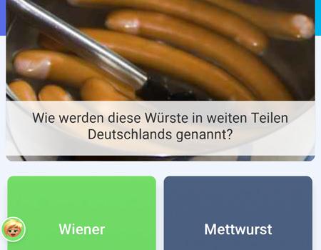 Bericht über die Quizduell Tour durch Wien Frage Wiener Würstl - www.wien-erleben.com