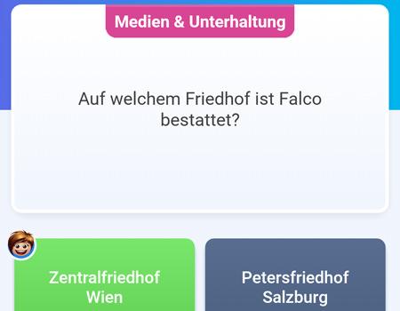 Bericht über die Quizduell Tour durch Wien Frage Falco Zentralfriedhof - www.wien-erleben.com