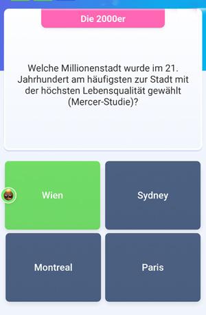 Quizduell-Tour durch Wien - Lebensqualität - www.wien-erleben.com