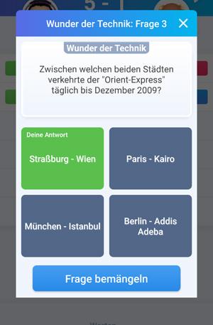 Quizduell-Tour durch Wien - Orient Express - www.wien-erleben.com