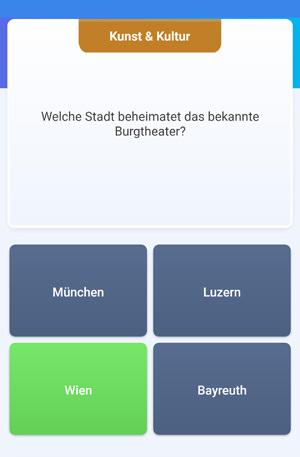 Quizduell-Tour durch Wien - Burgtheater Frage - www.wien-erleben.com