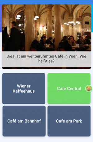 Quizduell-Tour durch Wien - Cafe Central - www.wien-erleben.com