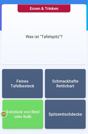 Quizduell-Tour durch Wien - Tafelspitz - www.wien-erleben.com