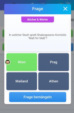 Quizduell-Tour durch Wien - Shakespeare - www.wien-erleben.com