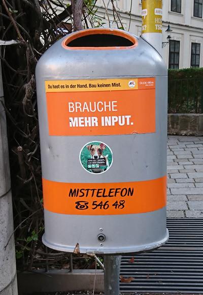 Mistkübel in Wien - brauche mehr input - www.wien-erleben.com