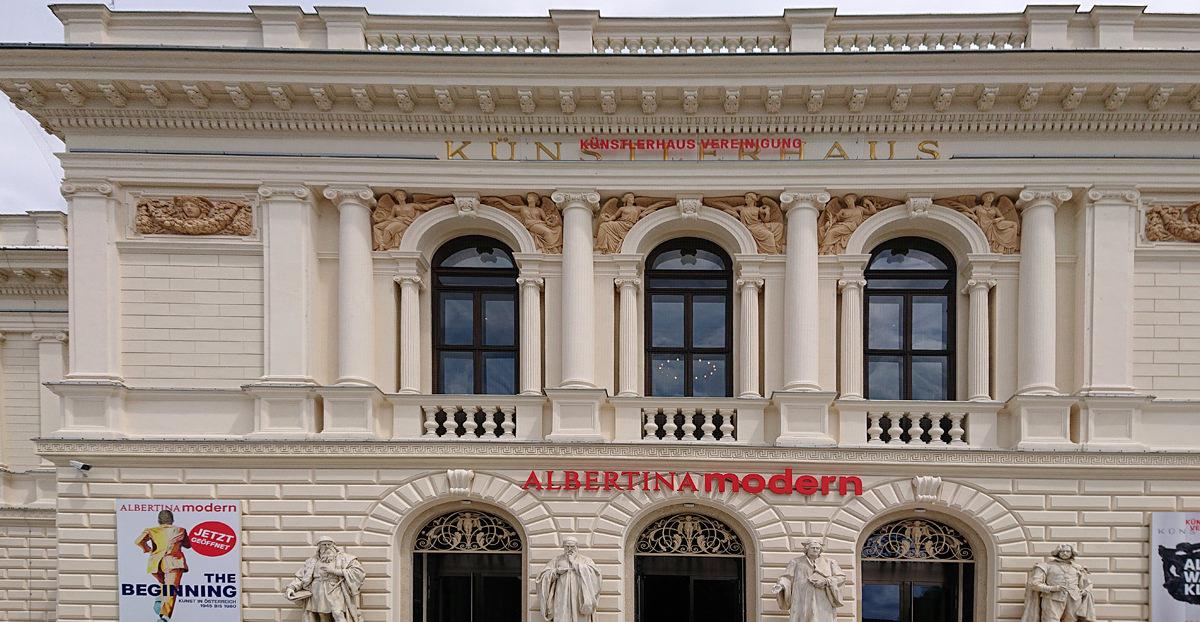 Albertina Modern - Außenansicht des historischen Künstlerhauses - www.wien-erleben.com