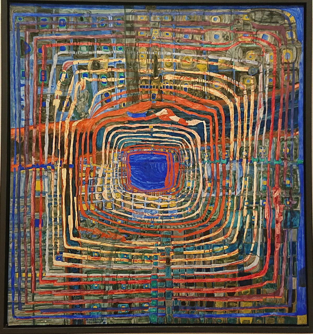 Albertina Modern - Hundertwasser - www.wien-erleben.com