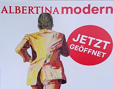 Beitrag über die Albertina Modern - Ausstellung The Beginning - www.wien-erleben.com