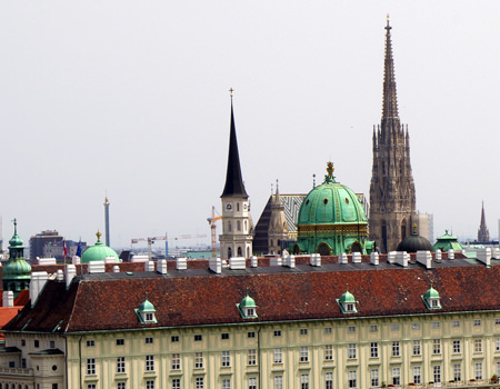 Bericht über den Justizpalast Wien - herrlicher Ausblick auf den Stephansdom - www.wien-erleben.com