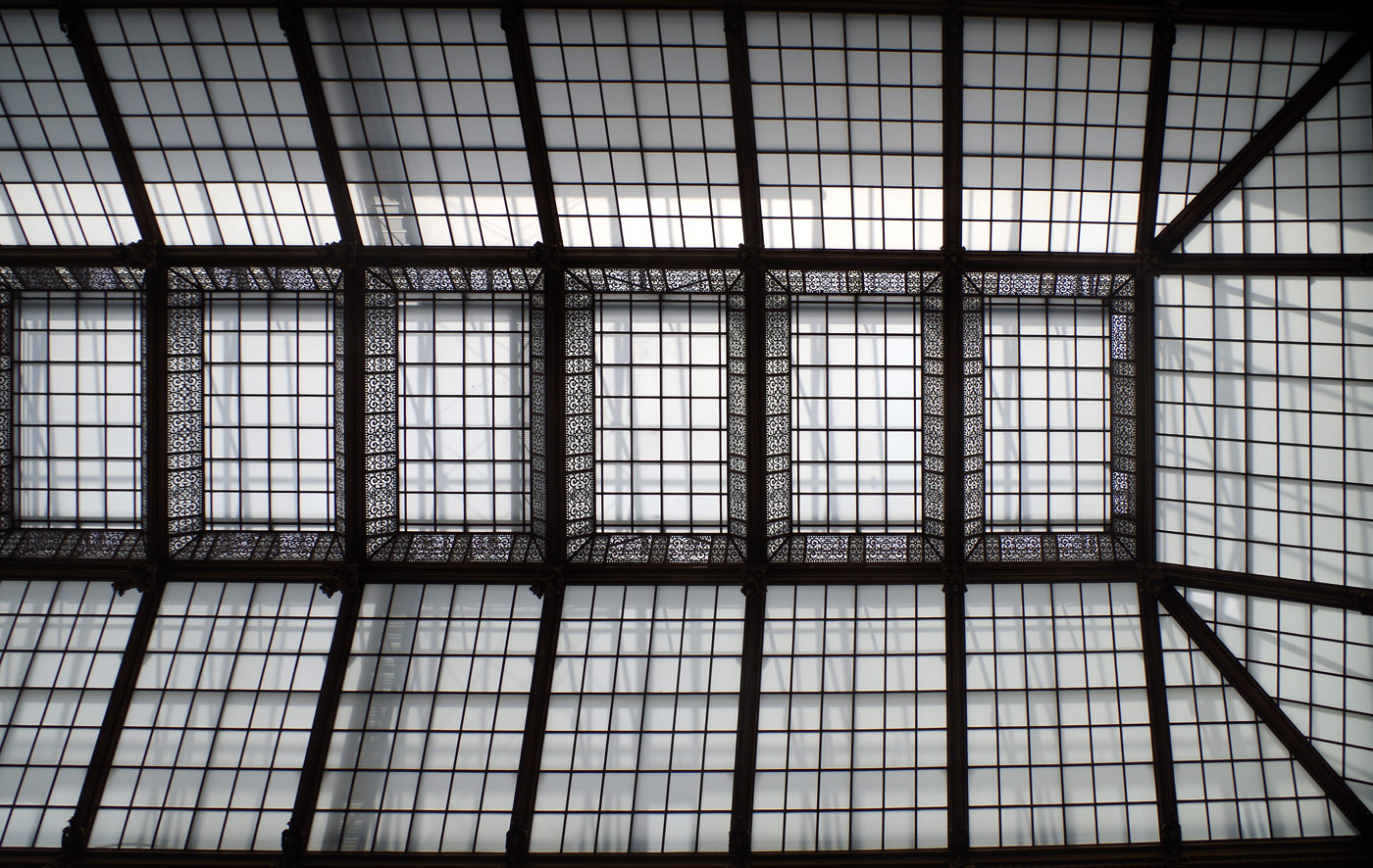 Justizpalast Wien - Glasdach der Aula - www.wien-erleben.com