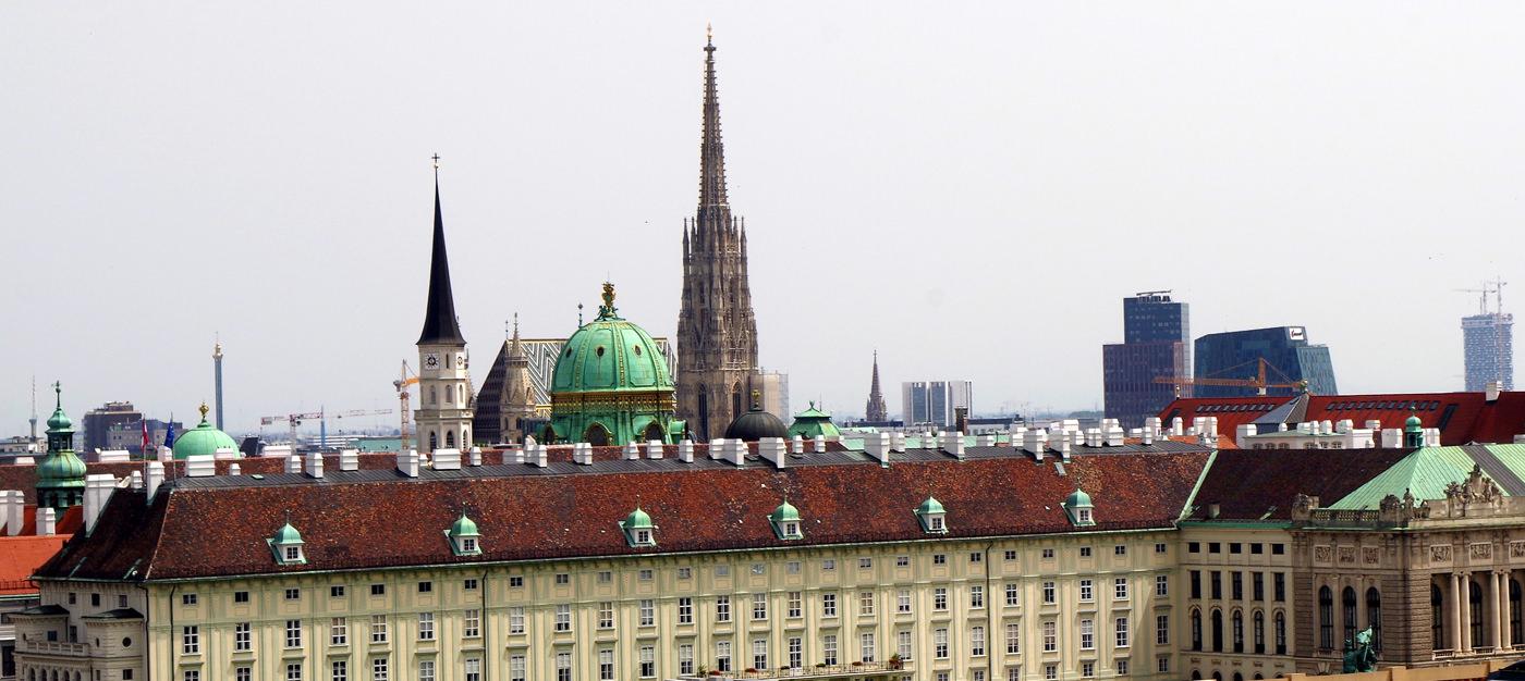 Justizpalast Wien - herrlicher Ausblick auf den Stephansdom - www.wien-erleben.com