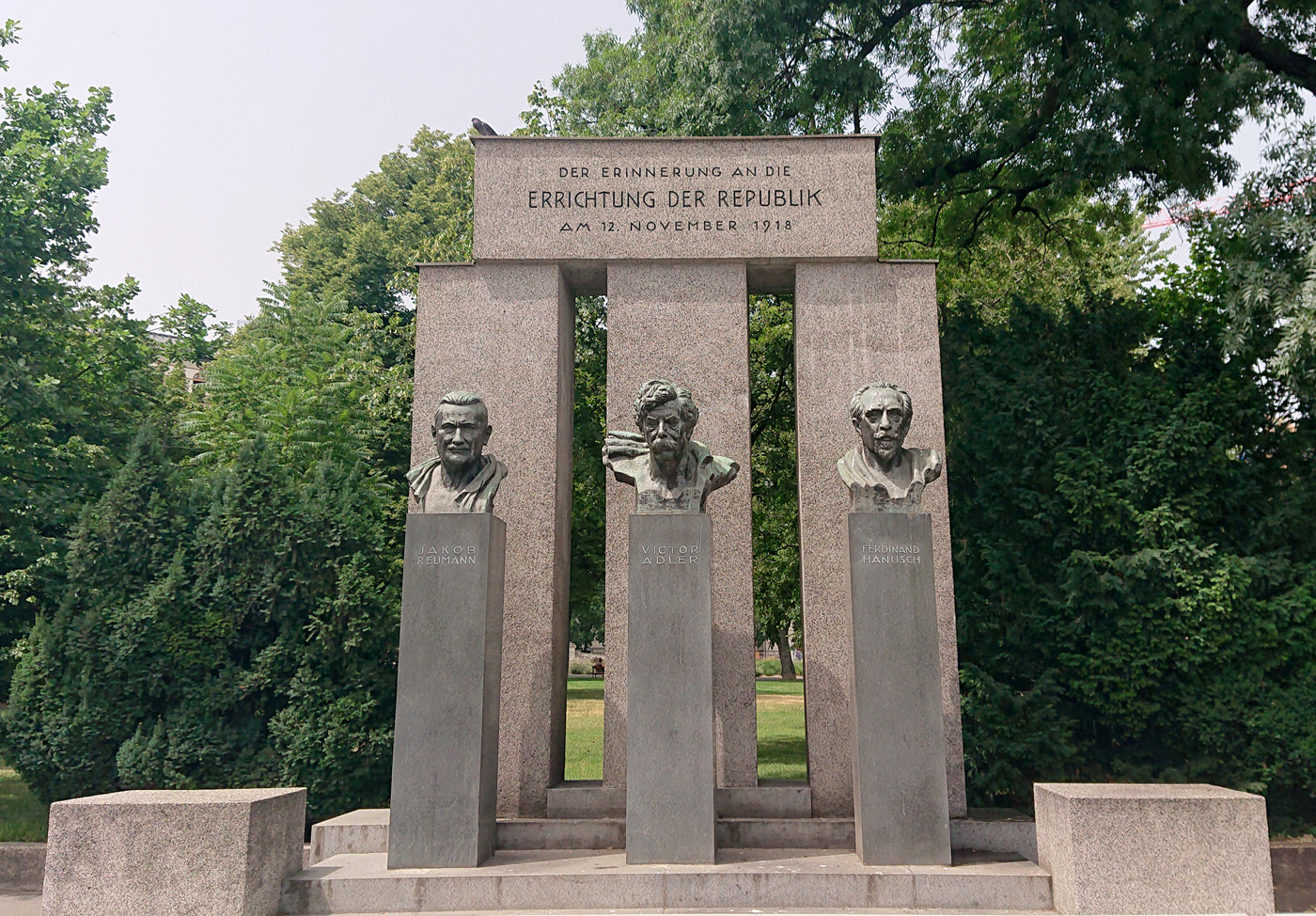 Justizpalast Wien - Das Denkmal der Republick gleich in der Nähe - www.wien-erleben.com